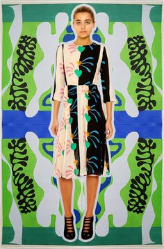 Tata Naka inspired Matisse collection collaged by Miss Moss.