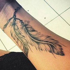 Feather Wrist