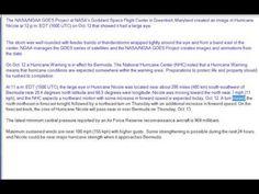 Watch  NASA Sees Large Eye in Hurricane Nicole ABCD World News