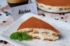 Fit tiramisu torta plná bielkovín, s nízkym množstvom tukov a famóznou chuťou (Recept)