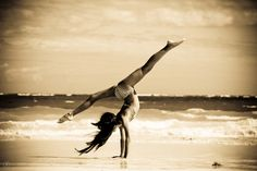 Beauty comes from strength, control and balance