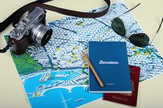 City Guides Books Illustration's Covers http://www.fubiz.net/2014/09/29/city-guides-books-illustrations-covers/