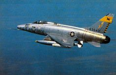 A U.S. Air Force North American F-100D Super Sabre of the 429th Tactical Fighter Squadron, 3rd Tactical Fighter Wing, en route to a target in Vietnam, around December 1965. Capt. Donald L. Kilgus was piloting an F-100 when he had an unconfirmed kill of a North Vietnamese MiG-17. U.S. Air Force photo