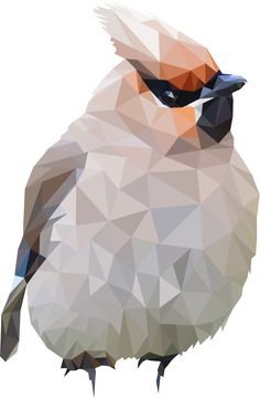 Polygon Bird 3 by Maru-Benz-Aihere