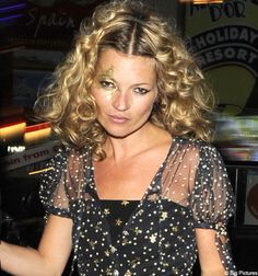 Ah How I've always wanted a proper kate moss star.  new years didn't quite work out!