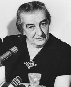 Golda Meir, former Prime Minister of Israel