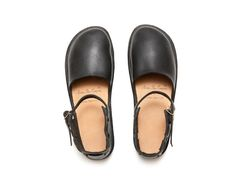 new chinese black leather shoes