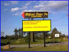 Itching to have some good old-fashioned fun at a drive-in theater this summer? There are plenty across New England to choose from. Drive In Movie Theater, New Hampshire, New England, The Past, Entertaining, Pets, Movies, Theatre, Travel