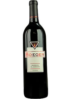 Boeger Winery - Barbera - El Dorado County