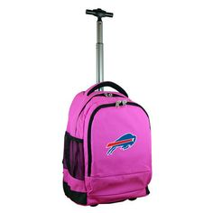 Buffalo Bills Pink 19'' Premium Wheeled Backpack #ad #luggage #nfl #football