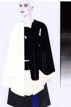 Fashion Sketchbook - fashion illustration for graduate fashion collection; fashion portfolio // Rachel Raheja