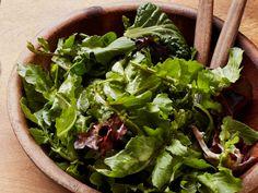 Green Salad with Creamy Mustard Vinaigrette recipe from Ina Garten via Food Network