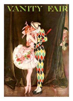 November 1914 cover by Frank X. Leyendecker from Vanity Fair