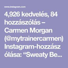 """4,926 kedvelés, 84 hozzászólás – Carmen Morgan (@mytrainercarmen) Instagram-hozzászólása: """"Sweaty Bench Workout😅🔥Could also be done indoors, at the gym, or home, wherever you find a…"""""""