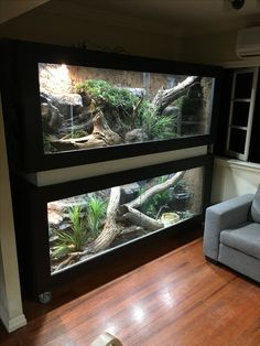 Latest Photo Snake Pet reptile enclosure Concepts We often get questions about w. : Latest Photo Snake Pet reptile enclosure Concepts We often get questions about what's an ideal beginner-friendly snake for those new to the hobby. Reptile Habitat, Reptile House, Reptile Room, Reptile Cage, Reptile Tanks, Reptile Pets, Animal Room, Animal House, Terrariums Diy