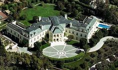 The Manor, Beverly Hills, Los Angeles  The listed price for the infamous Aaron Spelling Manor was $150 million, but the British, F1 Chief Bernie's daughter, Petra Ecclestone got it for $85 million in 2011. The French chateau-style mansion is the largest private home in Los Angeles County with a bowling alley, tennis courts, two swimming pools, barber shop and beauty salon, a spa, an 18th Century-style garden, a parking space for over 100 cars and needless to say.. there is much more!