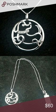 NEW! Sterling Silver Dog Necklace ❤MAKE OFFER❤ NWT. Beautiful Sterling Silver Puppy/ Dog Necklace CZ collar.  Perfect for animal lovers or anyone who just loves statement jewelry! Thanks for shopping! Bundle and save!  ❌❌❌ NO TRADES. NO HOLDS. Thanks. ❌❌❌  👌👍Serious buyers feel free to submit an offer!💖  Check out my other items! Jewelry Necklaces