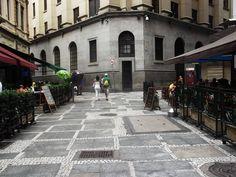 Esquina rua São Bento.