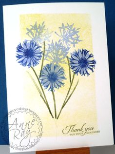 Visible Image stamps, Distress Inks, CAS One layer, Stampin' Up sentiment