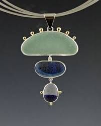 Image result for how to bezel set unusual shaped stones sea glass