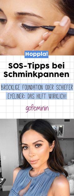 Das sind die besten SOS-Tipps bei Schminkpannen und Make-up-Ausrutschern!