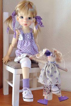 Dress Set with Funny Bunny Fits Kaye Wiggs MSD Body Like Talyssa by DCH | eBay