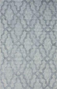 Rugs USA Elegance Cotton Trellis VST12 Grey Rug