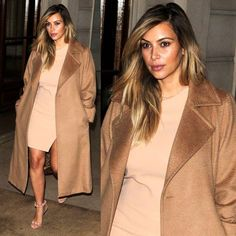 Kim Kardashian´s hair style for Paris Fasjion Week 2013