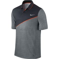 Nike Momentum 26 Golf Polo Shirt - Made from Dri-FIT fabric and ergonomic seams for a comfortable fit and natural range of motion on the course. Camisa Nike, Camisa Polo, Polo Shirt Design, Polo Design, Nike Golf Men, Summer Outfits Men, Golf Polo Shirts, Sports Shirts, Golf Fashion