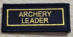 Archery leader #badge - often seen on #scout #uniform,  View more on the LINK: http://www.zeppy.io/product/gb/2/232027381444/