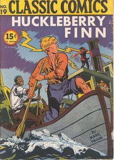 Huckleberry Finn Comic