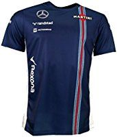 Williams Martini F1 Racing Replica Team T-shirt Official 2016