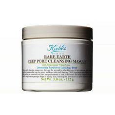 Rank & Style Top Ten Lists | Kiehl's Rare Earth Deep Pore Cleansing Masque #rankandstyle
