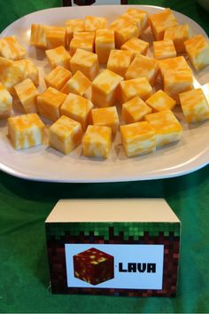 Minecraft Food - Lava
