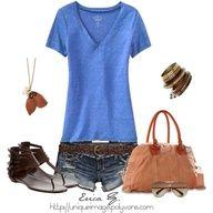 Summer clothes clothes