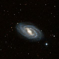 Messier 109 (M109) is a barred spiral galaxy located in the constellation Ursa Major. The galaxy lies at a distance of 83.5 million light years and has an apparent magnitude of 10.6. It has the designation NGC 3992 in the New General Catalogue.