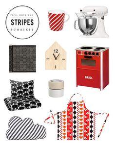 Kodin1, Elämäni koti, Vierasblogi Pics, dots and stripes suosikit #elamanikoti http://www.kodin1.com/shop/fi/kodin1/divaaniblogit/bloggaajien-tuotevalinnat