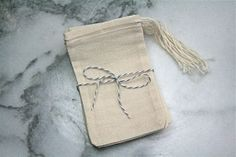 Muslin favor bags 3x5 Set of 25  Unprinted by CraftyClementines, $10.00