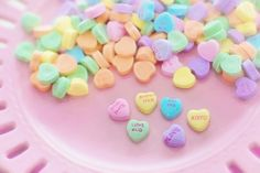 Candy hearts!!!