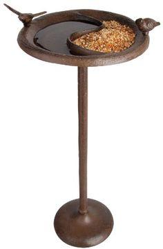 Esschert Design Birdbath & Feeder on Stand-Antique Brown Esschert Design http://www.amazon.com/dp/B0016N240Y/ref=cm_sw_r_pi_dp_cDFCvb123R78C