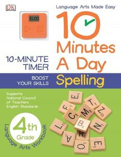 Fourth graders can get extra practice at spelling with exercises on prefixes, suffixes, hyphenated words, apostrophe use, and more in 10 Minutes a Day: Spelling Grade 4 . Accompanied with a digital ti