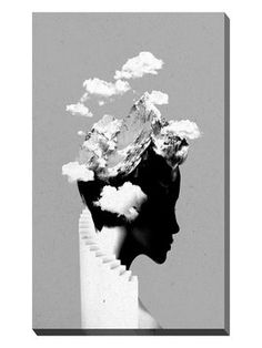 Its A Cloudy Day by Robert Farkas (Canvas) from Works on Canvas on Gilt