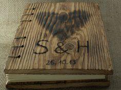 WEDDING GUEST BOOK Wood  Rustic by woodenartgallery on Etsy, $65.00