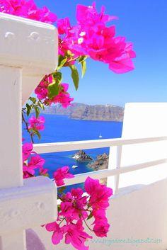 Droomplekje op Santorini