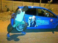Fhatuwani's fitness obsession just got real! #RealityCheck_SA #etvSA #BrandyourcarSA