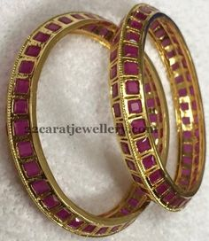 Real Look 1 Gram Gold Bangles Gallery