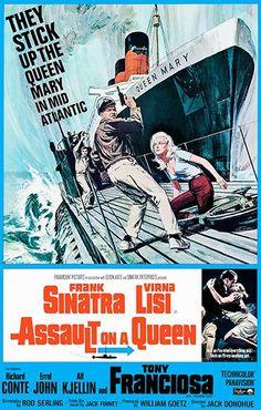 Assault On A Queen - 1966 - Movie Poster