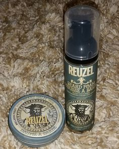 Got some more @reuzel products today. I may also be a Blue to Pink convert after my haircut today!  #beardgrooming #beardbalm #beardfoam #reuzelpink #reuzelblue by rexharrisonart
