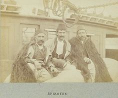 so need a cloak…   rumelia:  people from Epirus (judging from the date, most likely the Arta region),Greece, 1886.