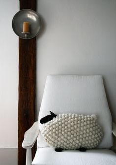 Bobble Sheep Pillow - the purl bee